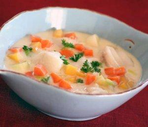 Prøv også Fiskegryte med høstens grønnsaker.
