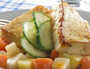Prøv også Stekt fiskepudding med rotgrønnsaker.