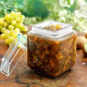 Prøv også Stikkelsbær, kiwi og druemarmelade.