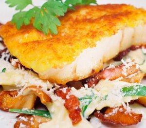 Prøv også Kremet pasta med panert isgalt.