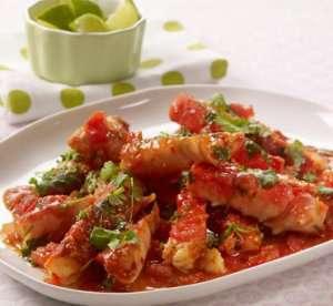 Bilde av Chilikongekrabbe med lime og koriander oppskrift.