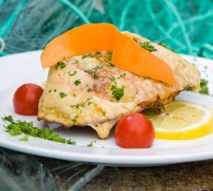 Prøv også Gratinert krabbe med fargerikt tilbehør.