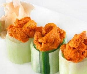 Prøv også Sushi med kråkebolle.