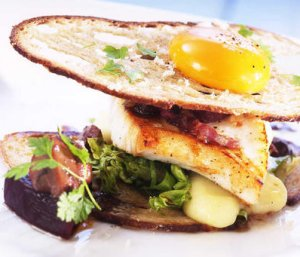 Prøv også Kveite -steaksandwich.