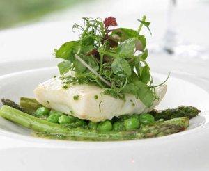 Prøv også Kveite med friske grønnsaker.