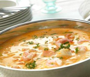 Prøv også Fiskesuppe til mange.