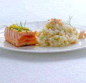 Prøv også Laks med sitron og risotto.