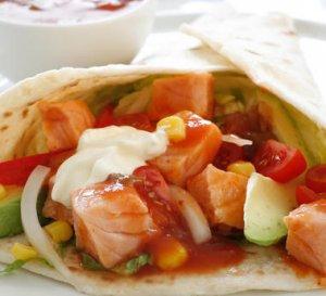 Prøv også Tortilla med laks 2.