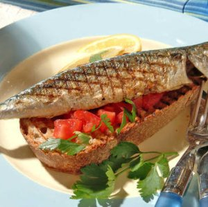 Prøv også Grillet små makrell.