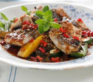 Prøv også Makrell med grønnsaker.