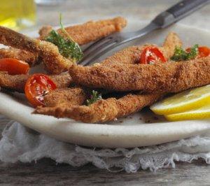 Prøv også Fritert matjessild med ovnsbakte cherrytomater.