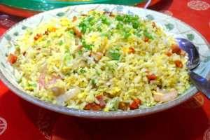 Prøv også Chinese fried rice Chao Fan.