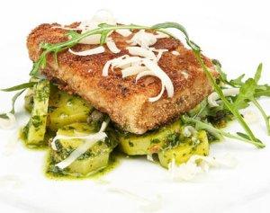 Prøv også Panert seifilet med grønn potetsalat.