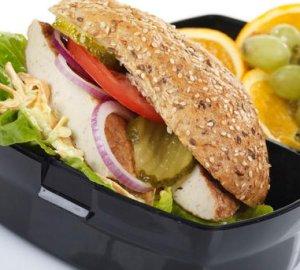 Prøv også Fiskeburger til matboksen.