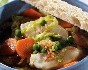 Prøv også Klar fiskesuppe med ingefær og soya.