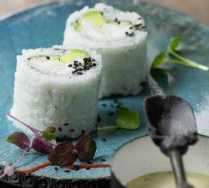 Prøv også Maki sushi med torsk.