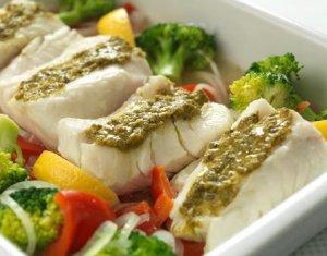 Prøv også Ovnsbakt torsk med pesto.