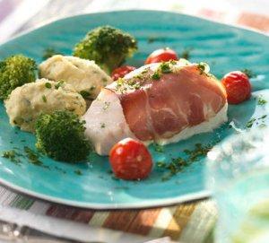 Prøv også Ovnsbakt torsk med skinke.