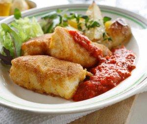 Prøv også Panert fisk med ovnsstekte poteter.