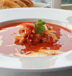 Prøv også Suppe med tørrfisk, bacon og chorizo.