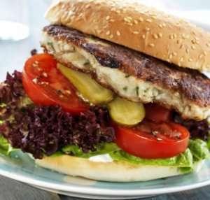 Fiskeburger 2 oppskrift.