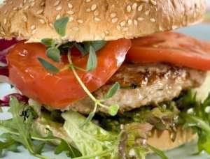 Gresk burgerbøff oppskrift.
