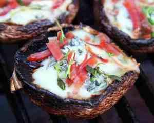 Prøv også Portobellosopp fylt med blåmuggost.