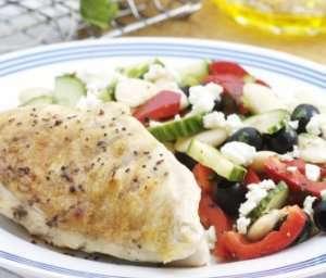 Prøv også Kyllingfilet med bønnesalat.