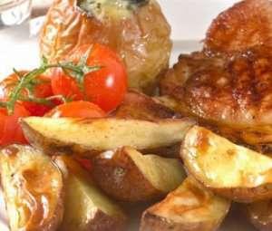 Prøv også Sommerkoteletter med bakt eple.