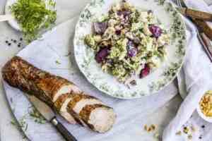 Prøv også Svinefilet med brokkolisalat.