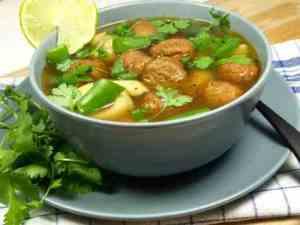 Prøv også Tortellini og svinekjøtt i buljong.