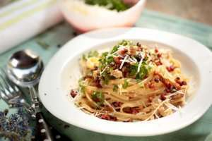 Prøv også Pasta carbonara fra gourmeten.