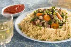 Prøv også Lam med couscous fra Algerie.