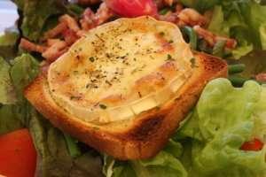 Prøv også Salat med grillet geitost.