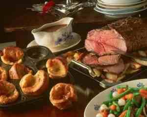 Prøv også Engelsk roastbeef med yorkshirepudding.