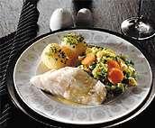 Prøv også Lettsaltet torsk med varm gulrotsalat.
