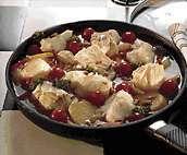 Prøv også Torskegryte m/ sitron og pinjekjerner.