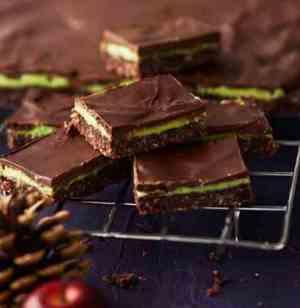 Bilde av Sjokoladestykker med Mintkrem.