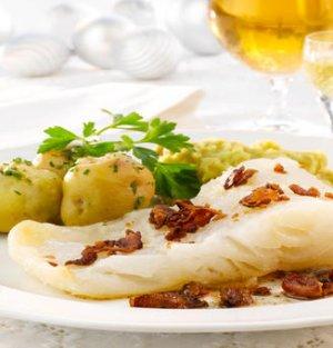 Prøv også Tradisjonell lutefisk med ertestuing.