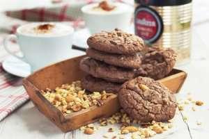 Sjokoladecookies oppskrift.