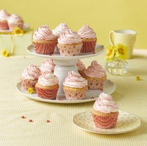 Bilde av Cupcakes med marmorert glasur.