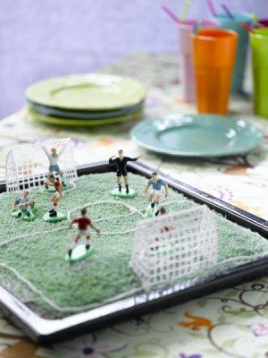Les mer om Fotballbane kake hos oss.