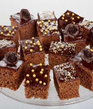Try also Sjokoladeruter med kakaoroser.