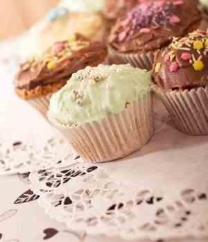 Prøv også Grunnoppskrift cupcakes.