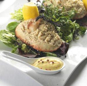 Prøv også Fylte krabbeskall med kryddermajones.