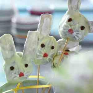 Prøv også Cake pops-harer.