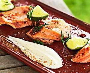 Prøv også Kreolsk laks med limeyoghurt.