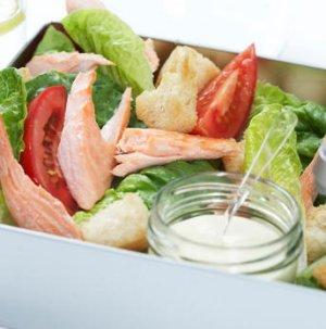Prøv også Salat med laks.
