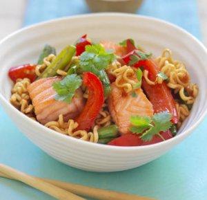 Prøv også Sweet chili wok med laks.
