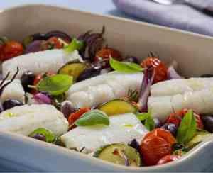 Prøv også Ovnsbakt torsk med grønnsaker.